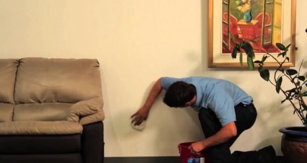 nettoyer efficacement la moisissure sur les murs. Black Bedroom Furniture Sets. Home Design Ideas