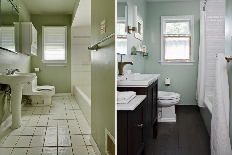 Les travaux de r novation de salle de bains - Idee renovation salle de bain ...